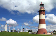 Plymouth, Smeaton's Tower on Plymouth Hoe, Devon © Sheila Tarleton